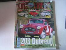 ** Gazoline n°79 203 Dubreuil / Fiat 850 / 4 CV australienne / Ford Anglia