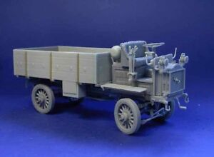 Resicast-1-35-UK-FWD-Truck-with-GS-Open-Body-Full-Resin-kit