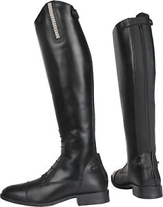 Ariat Heritage Contour II Tall Field Zip Boots Black Ladies Choose Size