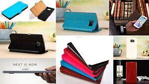 Flip-Cover-Tasche-Etui-Schutz-huelle-Klapp-Case-Samsung-GALAXY-S6-SM-G920F-Folie