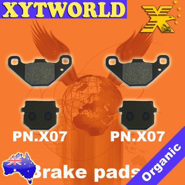 Front Brake Pads for DAELIM ET300 ET 300 Quad 2007-2009