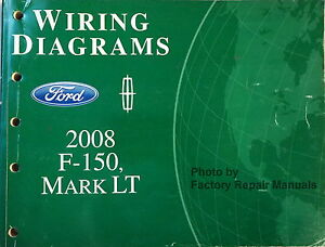 Details about 2008 Ford F-150, Lincoln Mark LT Electrical Wiring Diagrams on hvac diagrams, troubleshooting diagrams, series and parallel circuits diagrams, smart car diagrams, switch diagrams, sincgars radio configurations diagrams, internet of things diagrams, electronic circuit diagrams, battery diagrams, transformer diagrams, led circuit diagrams, engine diagrams, pinout diagrams, lighting diagrams, gmc fuse box diagrams, friendship bracelet diagrams, honda motorcycle repair diagrams, electrical diagrams, motor diagrams,