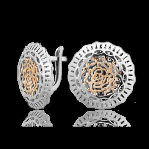 Ohrringe Schmetterling aus 925 Silber Echtschmuck Markenschmuck Alfa Karat Neu