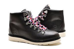 Ransom Men s Shoes Alpine Boot R1410L-BLK Black Bone Hiking Boots  8587f2332