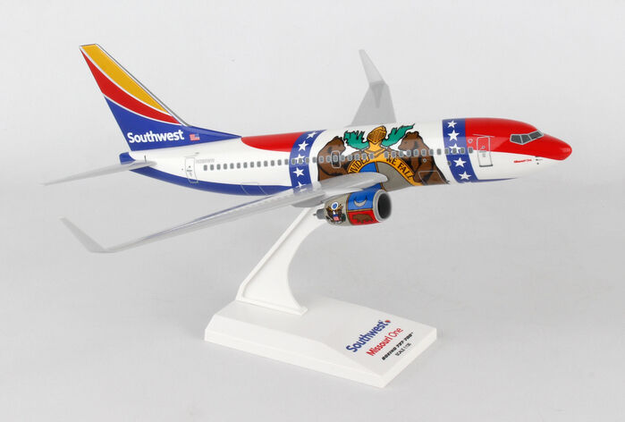 SkyMarks SKR870 Southwest Airlines SWA 737-700 1 130 Scale Missouri One Livery