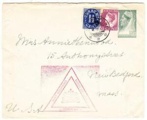 Netherlands Antilles Postal Envelope-HG:B27-UPRATED Sc#148,#152(FAULTS)-ST