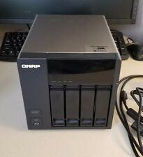 QNAP ts-412 W/ (2) WD red 2 TB drives (drives built for NAS)