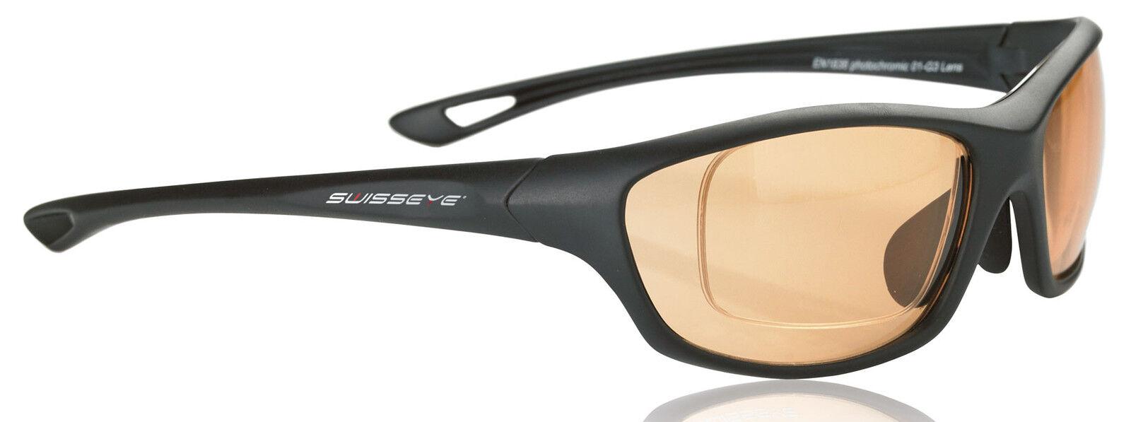 Swiss Eye deporte gafas  camaleón  negro Matt