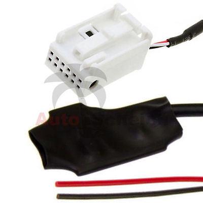 Aux en adaptador cable para BMW Mini ONE Cooper radio boost cd 53 mp3 iPhone celular