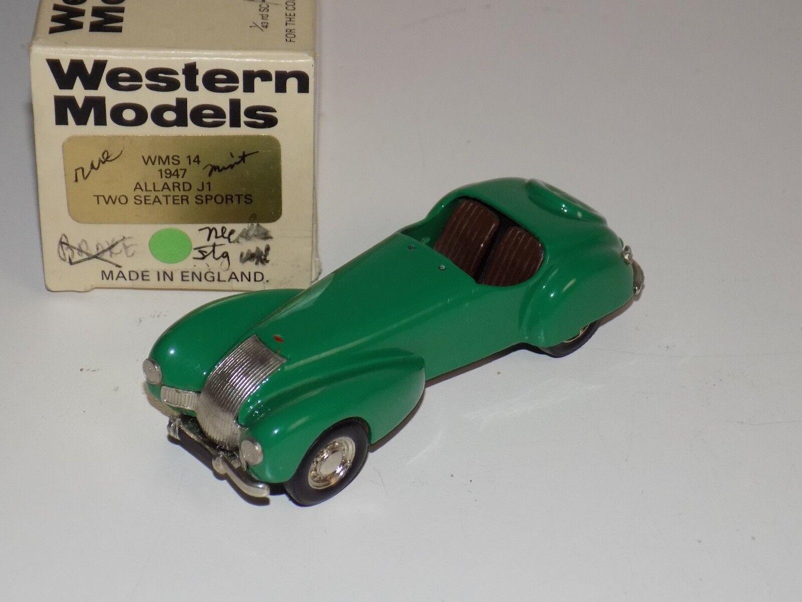 economico e di alta qualità 1 43 Western modellos modellos modellos 1947 tuttiard J1 Two Seater Sports  in verde W105  Spedizione gratuita al 100%