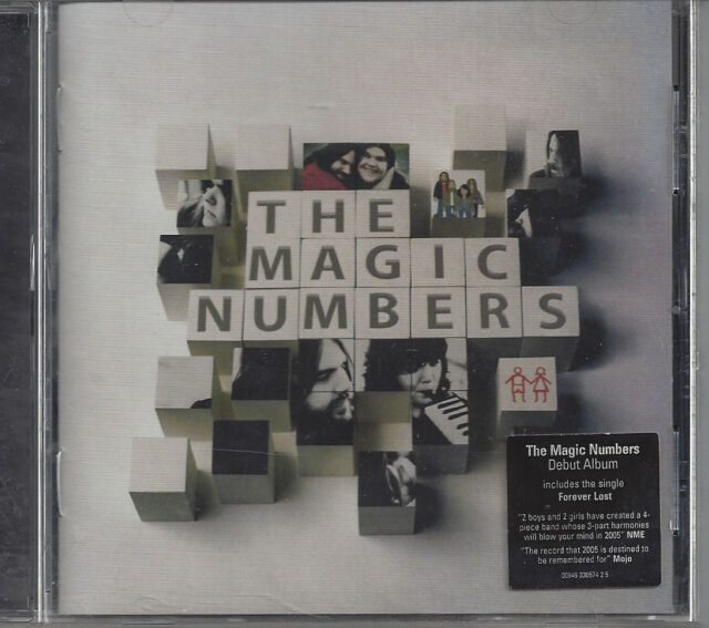 THE MAGIC NUMBERS - Magic Numbers ST DEBUT Album UK (CD 2005) MINT