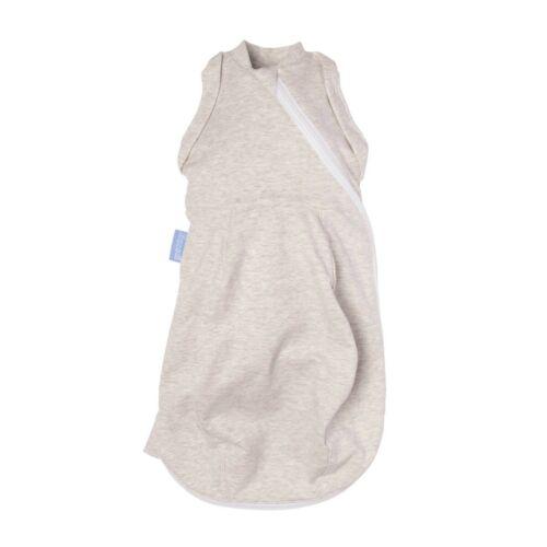 Grosnug Swaddle Gro Snug Grobag Sleeping 2-in-1 Dual Use Newborn Grey Marl Cosy
