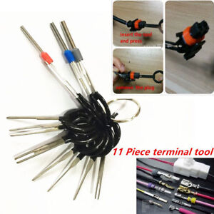11PC-Terminal-Removal-Car-key-Tool-Wiring-connector-Pin-Release-Extractor-Puller