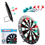 DartBoard Safe to use for Kids 6 Darts Included with Rubber Tips Gift Dart Board