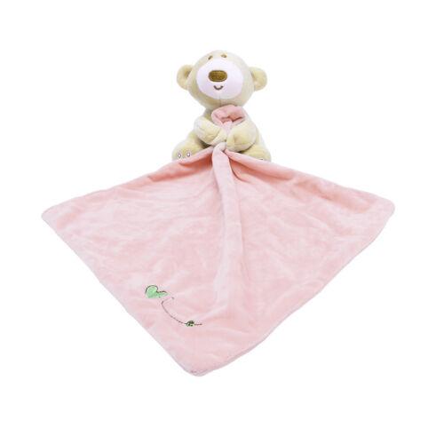 Baby Kids Comfort Soft Hugs Blanket Teddy Bear Plush Stuffed Washable Smooth Toy