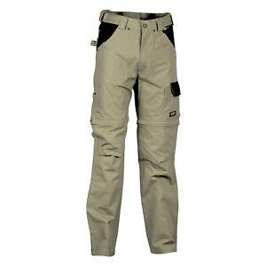Cofra-Helsinki-Pantaloni-da-lavoro-100-cotone-colore-corda-nero-con-doppia-t