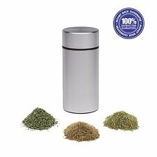 Stash Jar - New Aluminum Herb Stash Jar Airtight Smell Proof Container
