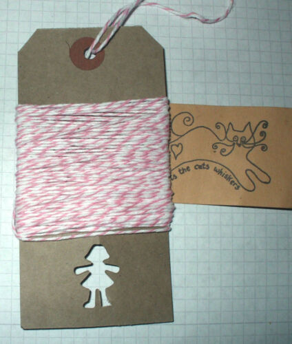 10mt /'Candy/' Divina Bakers Twine embalaje partes Adorno