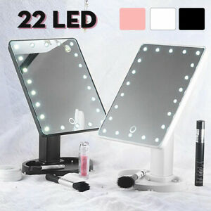 22 Led Light Vanity Makeup Mirror Touch Screen Lighted