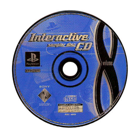 Playstation Interactive Sampler Vol 8 Sony Playstation 1 For Sale Online Ebay