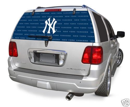 New York Yankees Rear Window Film