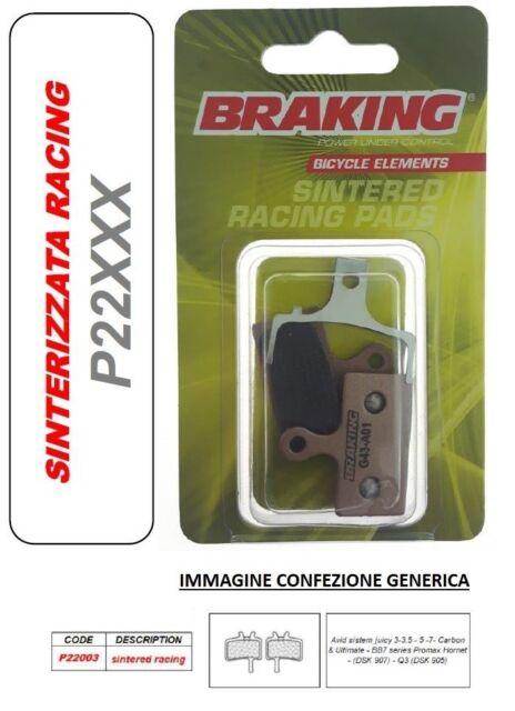 BRAKING Pastilla de Freno Sinterizado Racing MTB Enduro Carbono & Ultimate