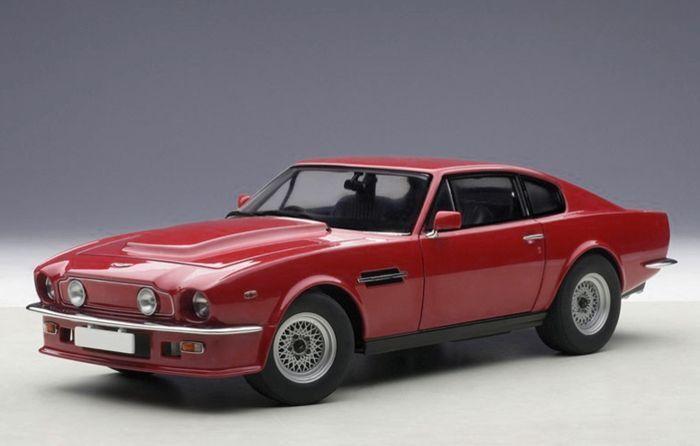 1 18 Autoart Aston Martin V8 Vantage (Suffolk Red) 1985