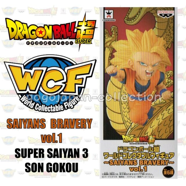 DRAGONBALL WCF World Collectable Figure SAIYANS BRAVERY SUPER SAIYAN 3 SON GOKOU