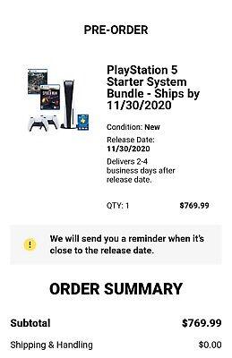 Playstation 5 Gamestop Bundle Preorder Confirmed Demons ...