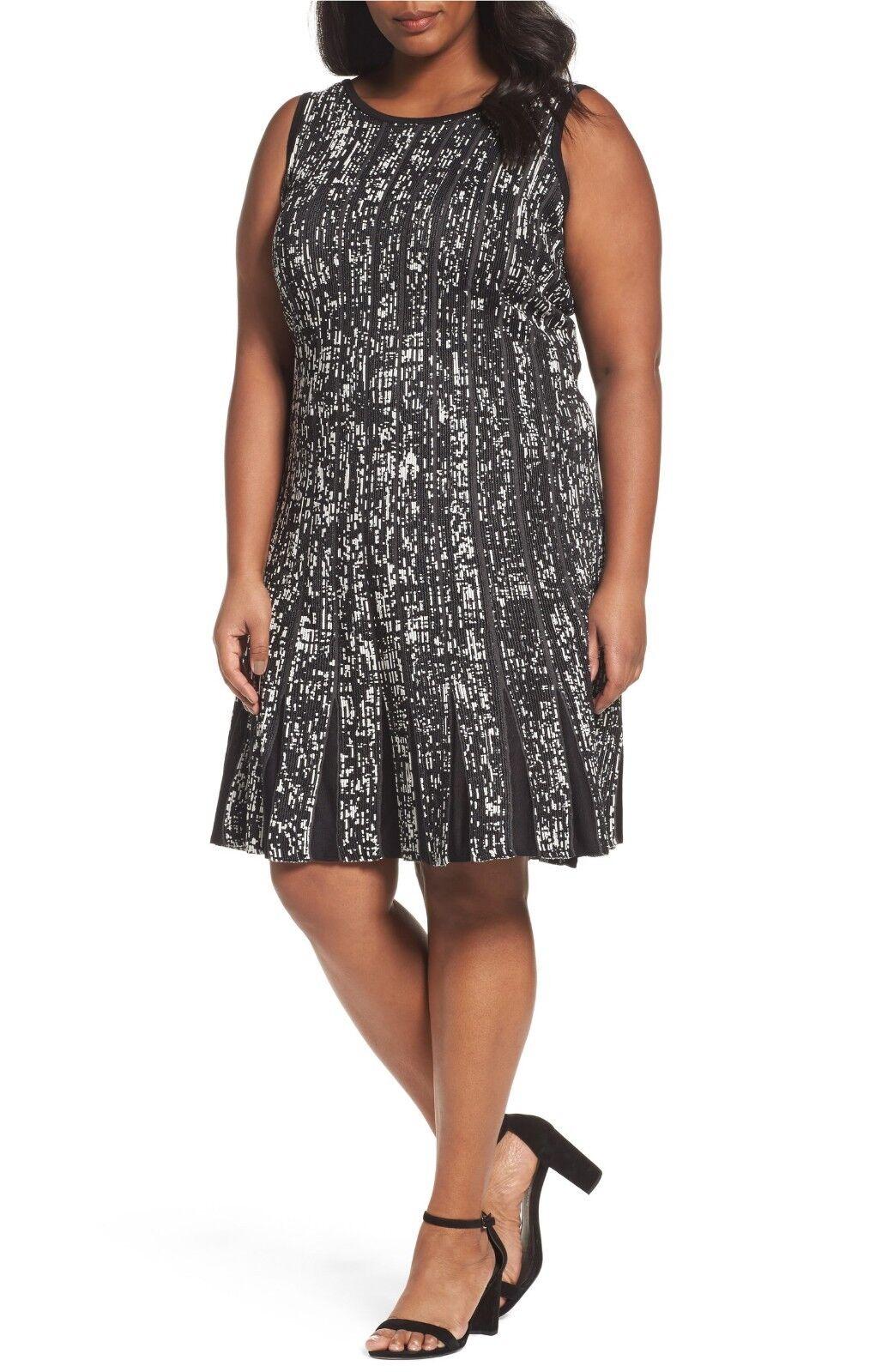 Nic + Zoe Boulevard Twirl Dress (Größe 3X)