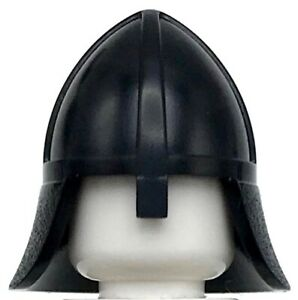 Lego New Minifigure Headgear Helmet Castle with Neck Protector Piece