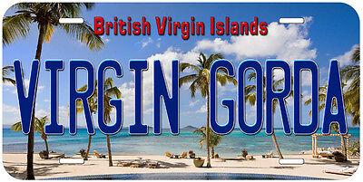Virgin Gorda British Virgin Islands Novelty Auto Car Tag License Plate