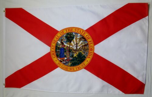 "Florida State 3/' X 5/' Quality Outdoor Flag Built for Flying /""USA Seller/"""