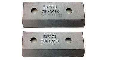 ASN 4 Screws 710-1054 Nuts 712-0411 ,Chipper Blade Fasteners for Craftsman 781-0490 /& 981-0490