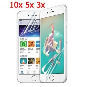 newest collection 25ca3 9c598 Details about 10/5/3Pcs HD Clear Front/Back Screen Protector Film Guard For  iphone 6 6s 7/Plus