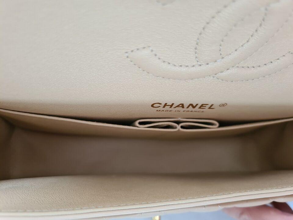 Chanel Classic Beige Clair Double Flap - Medium