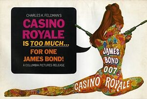 007-CASINO-ROYALE-1967-2-Ad-Supplements-P-Sellers-Unfolded-Uncut-VF