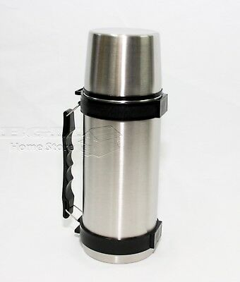 Hot /& Cold Stainless Steel 1 Litre Liter 1000ml  Vacuum Thermos Bullet Flask 1L