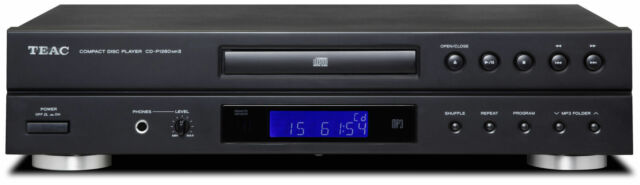 Teac CD-P1260MK2-B Reproductor de CD