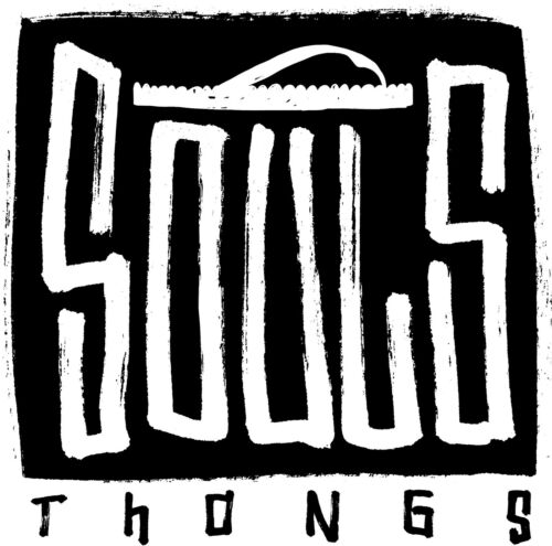 Charcoal Multi Souls /'Original/' Australian Massage Thong