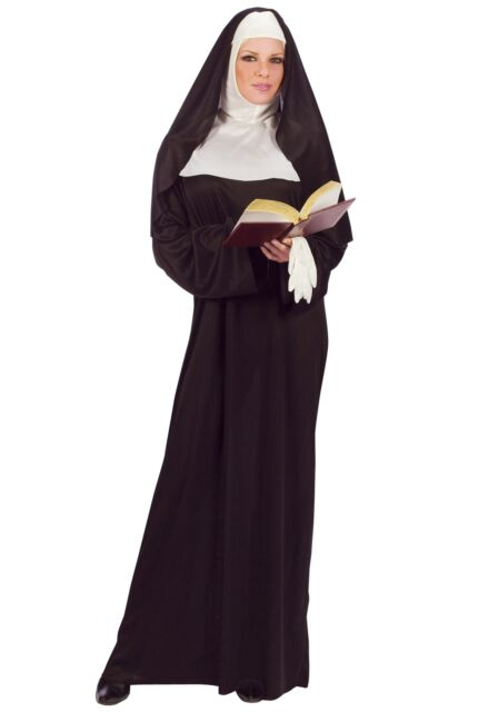 Nun Sister Classic Mother Superior Religious Habit Catholic Adult Womens Costume