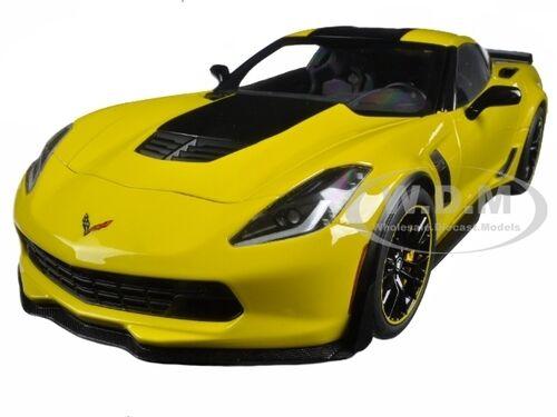 costo real 2016 Chevrolet Corvette C7 Z06 Z06 Z06 C7R Racing Amarillo 1 18 de Autoart 71260  precios razonables