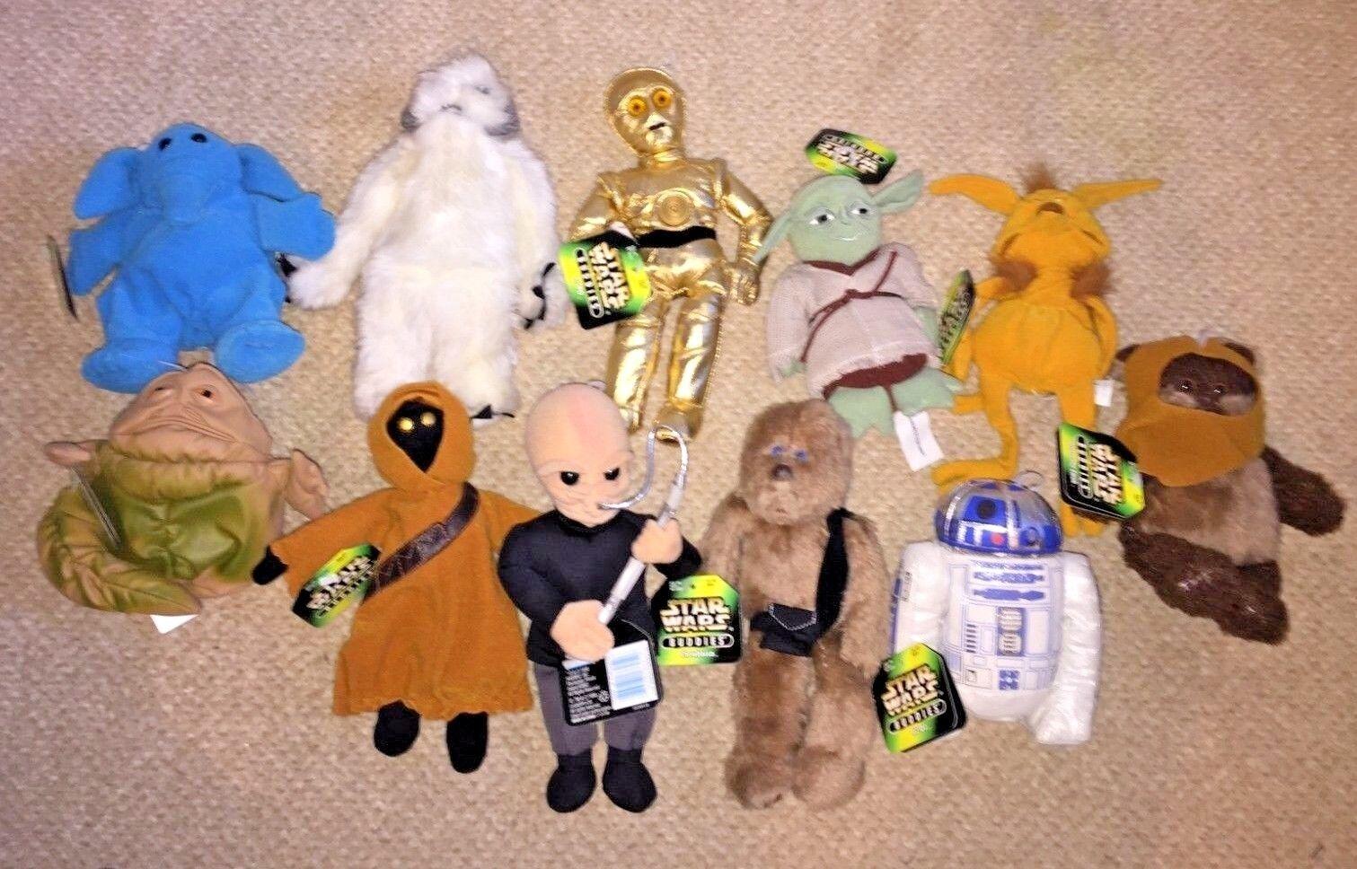 Vintage Star Wars Buddies Collection - Kenner Kenner Kenner 1997 Soft Toy Beanie Plush 59c036