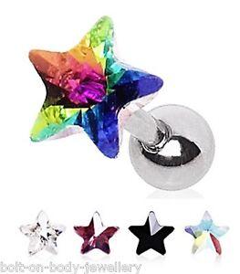 Crystal-Star-Tragus-Cartilage-Helix-Bar-Ear-Stud-6mm-x-1-2mm