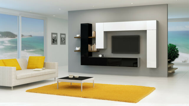 Brin 7 - entertainment center cabinet / living room wall unit / tv stand