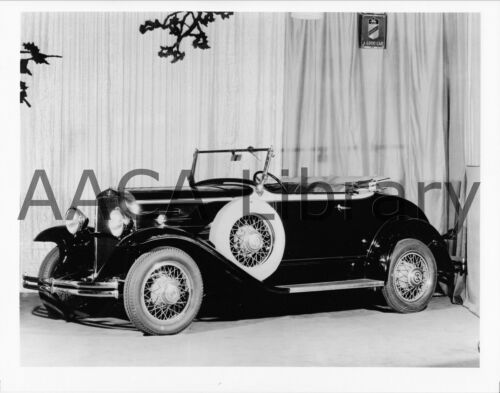 614 Roadster @ Auto Show Factory Photo Ref. #39861 1930 Durant Car