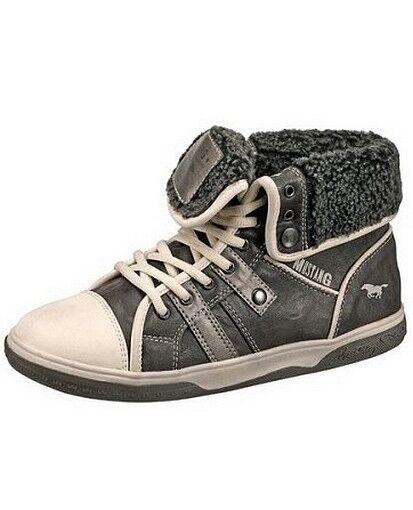 Mustang botas Gr.36 Nuevas Zapatos de Mujer Botines Antracita Antracita Antracita Piel Sintética  tienda en linea