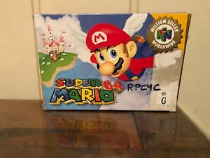 Details about Super Mario 64 Boxed Nintendo 64 Game! GC Complete ! N64 OZ  SELLER FAST POST!