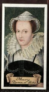 Tobacco-Card-Carreras-CELEBRITIES-OF-BRITISH-HISTORY-1935-Mary-Queen-of-Scots-9