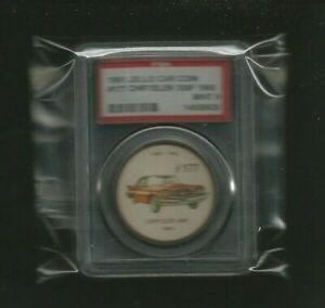 "1961 Jello Car Coins ""1960 CHRYSLER 300F"" #177 Graded PSA 9 MINT! RARE CONDITION"